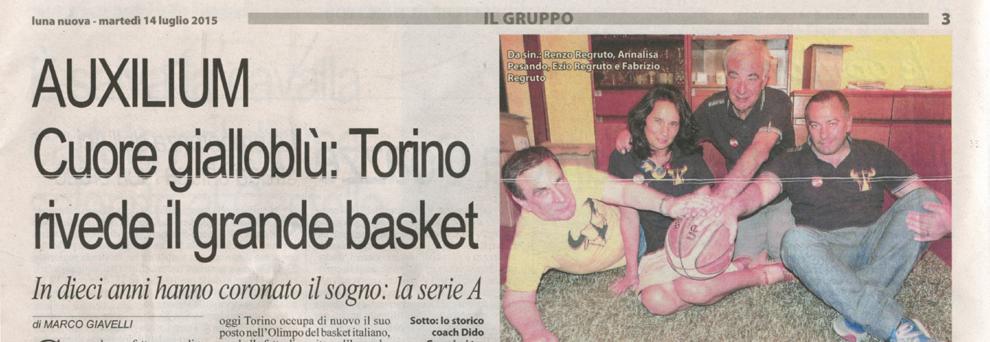 Auxilium Torino Calendario.Cuoregialloblu